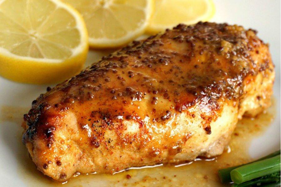 Receta de Pechuga de Pollo al horno al limón