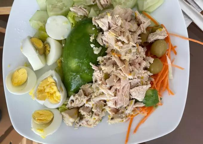 Ensalada con pollo